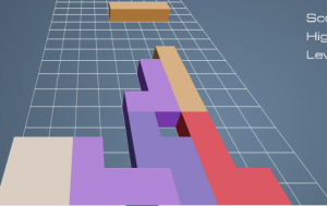 3D тетрис4