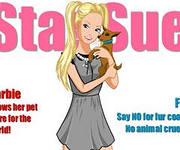 Барби одевалка с собачкой, скриншот игры, барби, barbi, кукла, куклы, для девочек, играть, для девушек, онлайн, бесплатно, без регистрации, бесплатные, флеш, флэш, flash, игры, игра, games