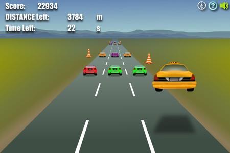 Играть гонки такси 3д