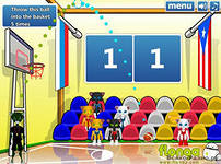 Чемпионат мира по баскетболу, скриншот игры, игра, онлайн, games, бесплатно, спортивные, баскетбол