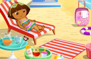 Даша на пляже3