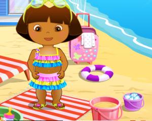 Даша на пляже4