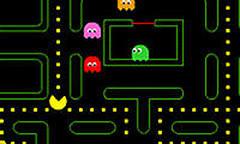 Flashpacman, скриншот игры, классика, классические, пакман, онлайн, бесплатно, игра, games, packman