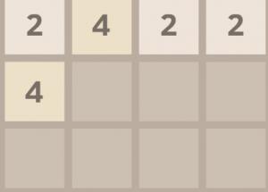Головоломка с цифрами 2048 2
