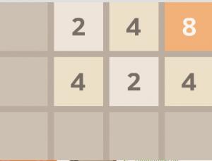 Головоломка с цифрами 2048 3