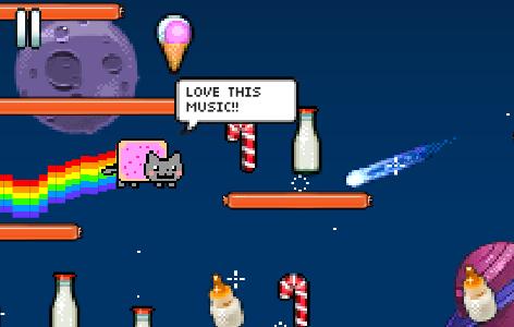Кот нян онлайн играть