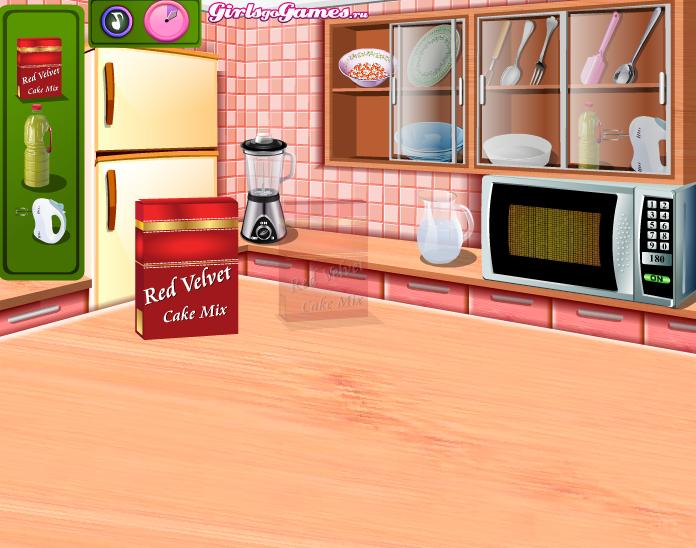 Кухня сары круглые кексы готовить