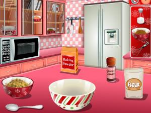 Кухня Сары: пряничный домик, готовить, кухня, на кухне, готовка, для девочек, для девушек, кушать, есть, еда, приготовление, еды, играть, онлайн, бесплатно, без регистрации, бесплатные, флеш, флэш, flash, игры, игра, games