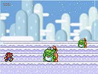 Марио Снег, скриншот игры, mario, марио, super mario, dendy, денди, сего, сега, играть, онлайн, бесплатно, без регистрации, бесплатные, флеш, флэш, flash, игры, игра, games