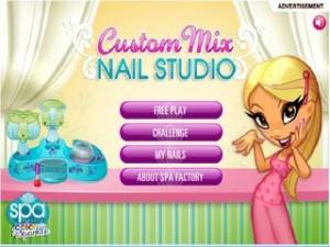Nail Studio , макияж, маникюр, для девочек, парикмахер, причёска, делаем причёску, уход, играть, онлайн, бесплатно, без регистрации, бесплатные, флеш, флэш, flash, игры, игра, games, для девочек
