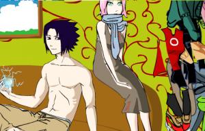 Одевалка Сакура