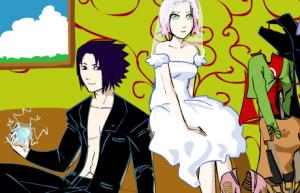 Одевалка Сакура3