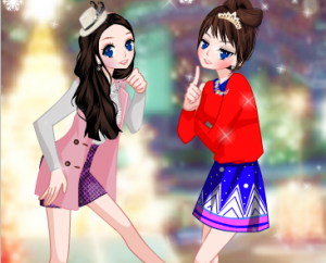 Одевалка двух подружек3
