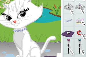 Одевалка кошек3