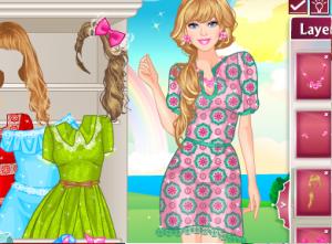 Одевалка мода Барби2