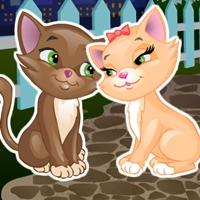 Поцелуй моего котенка, поцелуи, целовашки, свидания, зеловалки, романтические, для девочек, играть, онлайн, бесплатно, без регистрации, бесплатные, флеш, флэш, flash, игры, игра, games, для девочек
