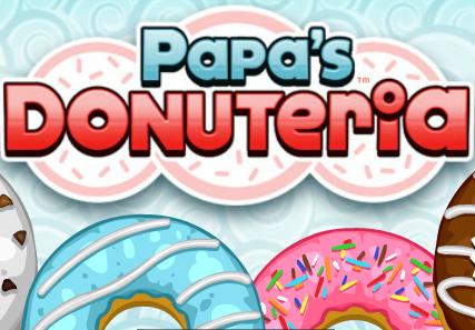 Играть в кухню папы луи пончики
