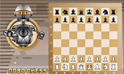 Робо-Шахматы, скришот игры, классика, карты, карточные, классические, flash, game, игры, бесплатно, настольные