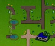 Сельские дороги, скриншот игры, соедини лампочки, трубопровод, головоломки, на логику, задания, играть, онлайн, бесплатно, без регистрации, бесплатные, флеш, флэш, flash, игры, игра, games