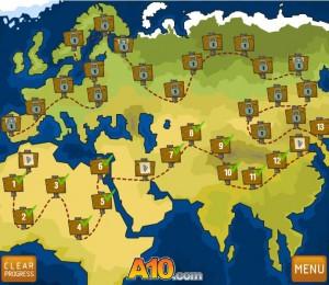 карта уровней
