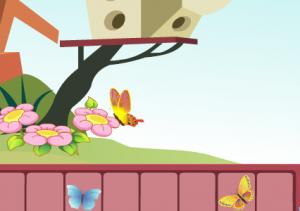 Собери бабочек4