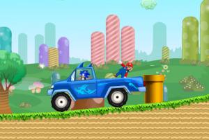 Соник Спасает Марио2