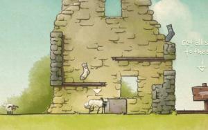 Три овечки 2. Затерянное Подземелье2