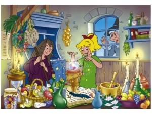 Ведьмина кухня, шарики, пузырики, lines, выстрой линию, линии, играть, онлайн, бесплатно, без регистрации, бесплатные, флеш, флэш, flash, игры, игра, games