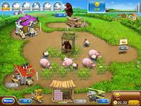 Веселая ферма, скриншот игры, экономические, стратегии, на развитие, играть, онлайн, бесплатно, без регистрации, бесплатные, флеш, флэш, flash, игры, игра, games