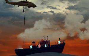 Высадка на палубе4