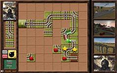 Железная Дорога 3, скриншот игры, соедини лампочки, трубопровод, головоломки, на логику, задания, играть, онлайн, бесплатно, без регистрации, бесплатные, флеш, флэш, flash, игры, игра, games