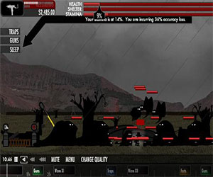 Скриншот бесплатной игры balloon in a wasteland